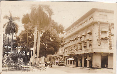 RP: Panama City , Panama , 1931 ; Hotel Central Street view