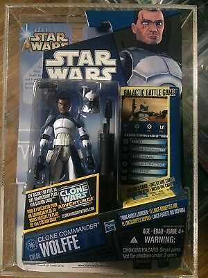 STAR WARS HASBRO - NEW ACTION FIGURE commander  Wolfe CW3 - THE CLONE WARS