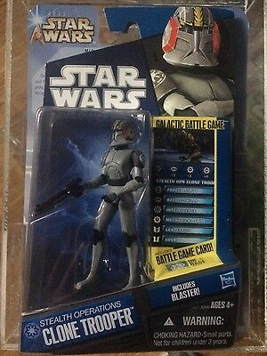 STAR WARS HASBRO - NEW ACTION FIGURE Stealth operations trooper  THE CLONE WARS