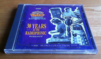 Doctor Who 30 Years At The Radiophonic Workshop BBC Audio Collection