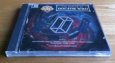The Worlds Of Doctor Who CD released by Silva Screen produced by Mark Ayres