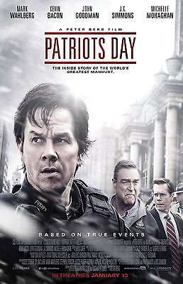 "Patriot's Day movie poster (d) -  11"" x 17""  inches - Mark Wahlberg"