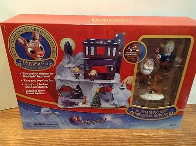 New Rudolph the Red Nosed Reindeer Ultimate Figurine Adventure Display Set