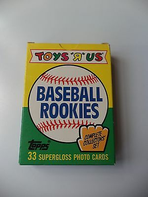 """Topps Baseball Rookies 1989 Trading Card Factory Set (Toys """"R"""" Us Exclusive)"""