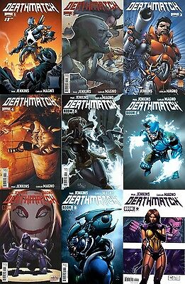 DEATHMATCH 1 2 3 4 5 6 7 8 9 | Boom! NM 1st Print FREE Shipping Cover A B C