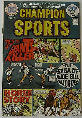 Champion Sports #3 (Feb-Mar 1974, DC), NM condition