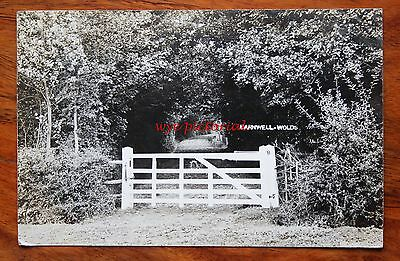 Posted 1907 Photo  Postcard Rp Northamptonshire Barnwell Wolds