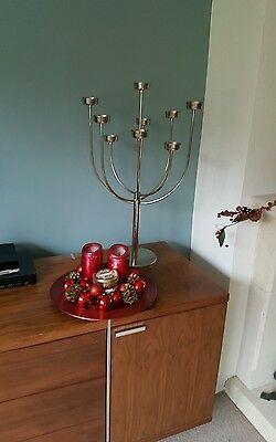 Large Candelabra Candle Holder Candle Stand - Holds 9 candle / Tea lights