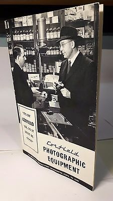 Corfield 35 page photographic equipment booklet