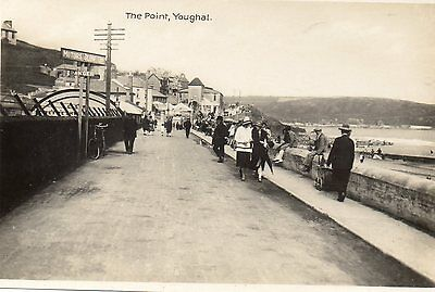 Youghal County Cork Ireland The Point The Milton Post Card Real Photograph AK