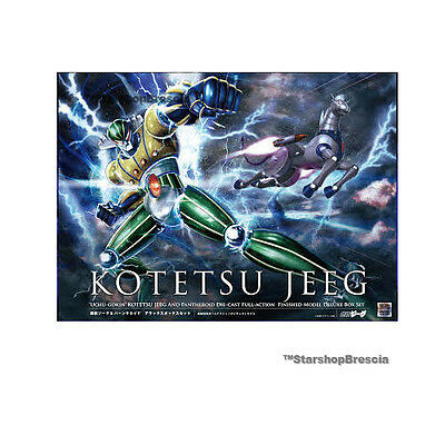 JEEG Kotetsu Jeeg with Pantheroid Restyling Exclusive Normal Anime Color Arcadia