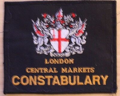 London Cerntral Markets Constabulary Patch
