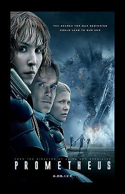 Prometheus movie poster (b) - 11 x 17 inches - Alien movie poster, Ridley Scott