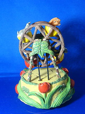 Charming Tails Teeny Tiny Tails Tulip Ferris Wheel Music Box Mouse Figurine