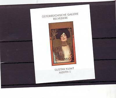 Austria - Sgms2701 Mnh 2003 Painting Of Judith