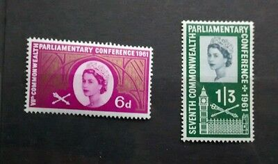 gb mint stamps 1961 Seventh Commonwealth Parliamentary Conference MINT UNMOUNTED