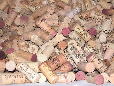 1000 used & new wine corks - all in good condition. no plastics or champagne
