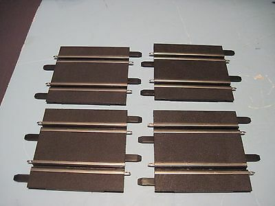 "1/43 Carrera GO slot car track  , 4 pieces about 4-1/2 "" long each"