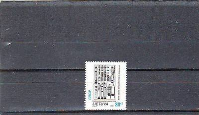 Lithuania - Sg561 Mnh 1994 Europa - Inventions & Discoveries