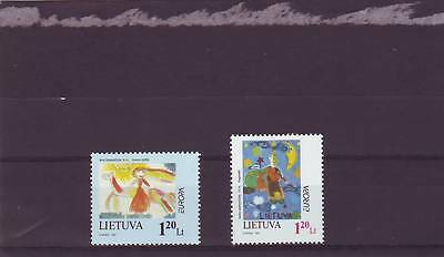 Lithuania - Sg642-643 Mnh 1997 Europa - Tales & Legends