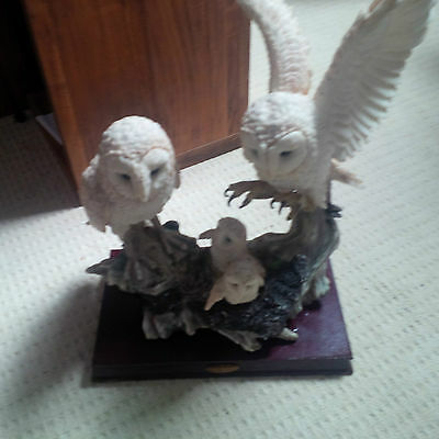 The Juliana Collection Family of Owls Statue