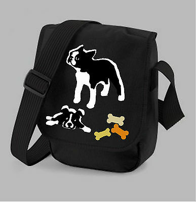 Boston Terrier Gift Ladies Bag Handbag Shoulder Bags 2 Designs Colours Xmas Gift
