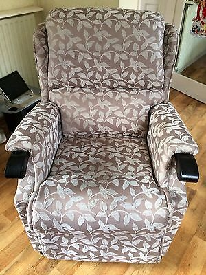 Rise and Recline Dual Motor Armchair - Excellent Condition