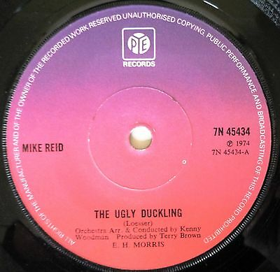 Mike Reid The Ugly Duckling Comedy Single 45