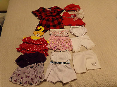 Collection Of Mixed, Used '' Build A Bear '' Clothes Etc. ( Bundle 5 Of 9 )
