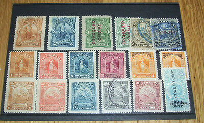 EARLY NICARAGUA STAMPS (Lot 2)