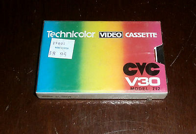 Cvc V30  Technicolor Video  Cassette  Model: 712        Neuf Sous Blister