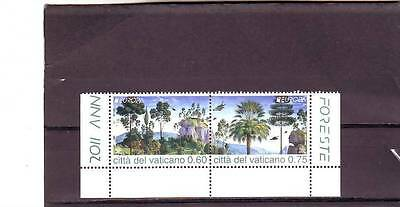 Vatican - Sg1626-1627 Mnh 2011 Europa - Forests