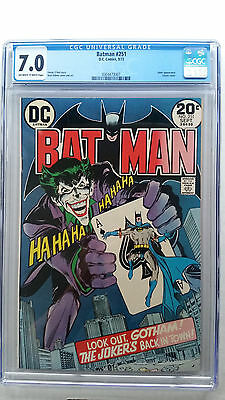 Batman #251 CGC 7.0 F/VF   Classic Joker Neal Adams Cover