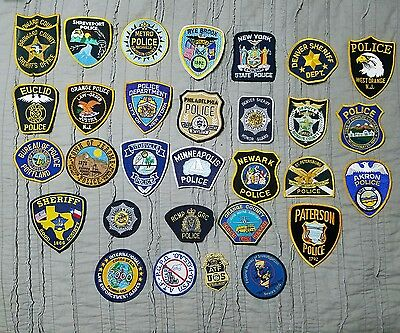 Police Patch Collection