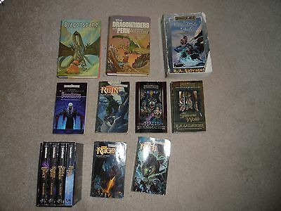 Lot Of 13 Science Fiction/Fantasy Books