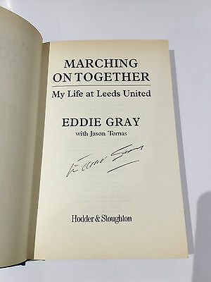 Eddie Gray Hand Signed Book Autograph With Coa Leeds United Autobiography