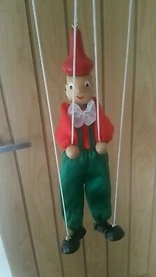 Wooden Pinocchio puppet/marionette