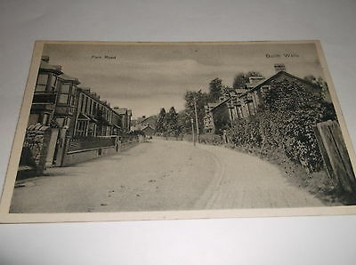 Old Postcard Of Park Road, Builth Wells