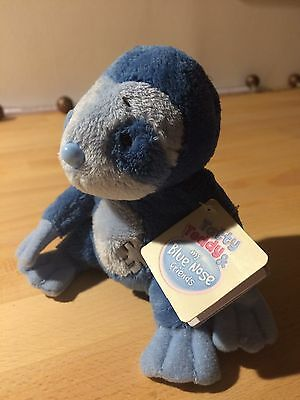 Tatty Teddy and My Blue Nose Friends Snoozy The Sloth Sits 4-Inch Tall Soft Toy