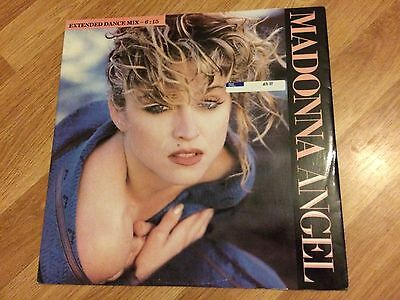 Madonna Angel / Into The Groove Vintage LP Vinyl NEAR MINT.
