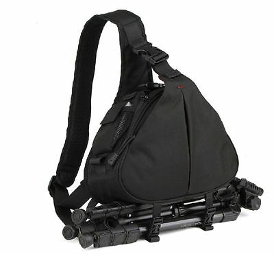 Croco� Pro Sling Bag Case DSLR SLR Lens & Tripod All Weather Medium -  Alpha NEX