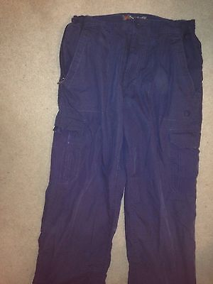 Mens Peter Storm Walking Trousers Size 30S