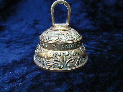 Brass bell  Latin description