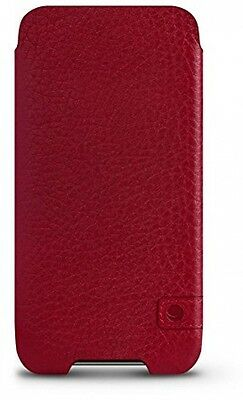 Beyzacases Genuine Leather New Zero Case For Apple IPhone 6 Plus/6S Plus - Red