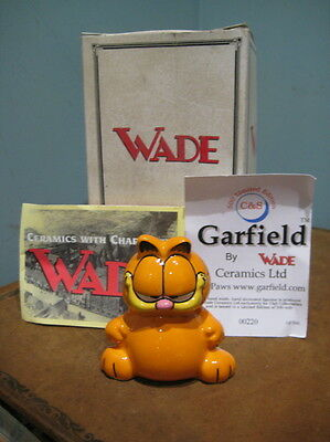 Wade ,Garfield ,Boxed,Ltd Edition low number 220 of 500,vintage