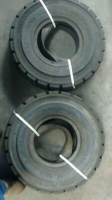 6.50-10 Forklift tyres,heavy duty.