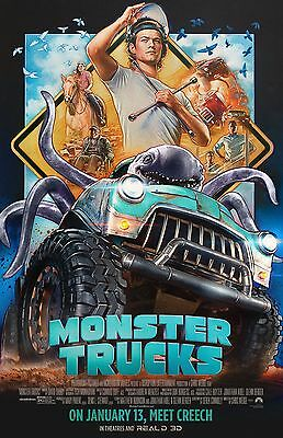 "Monster Trucks movie poster (b) - 11"" x 17"" inches"