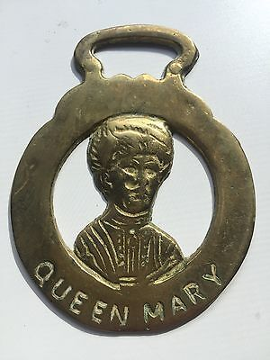 Horse Brass -Queen Mary c1960s