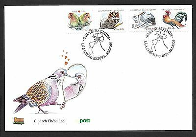 2005         FDC      GREETINGS SET        An Post