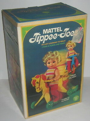 Vintage 1967 Mattel Tippee-Toes doll BOX ONLY